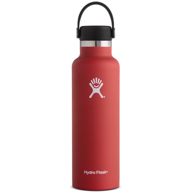 Hydro Flask Standard Mouth With Flex Cap Lava