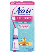 Nair Ultimate Microwavable Roll-On Wax with Moroccan Argan Oil for Face