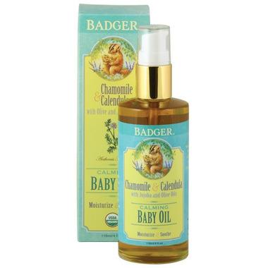 Badger Calming Baby Oil