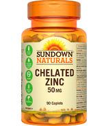 Zinc chélaté Sundown Naturals