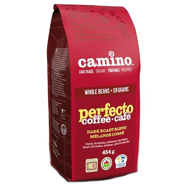 Camino Organic Perfecto Dark Roast Blend Whole Bean Coffee