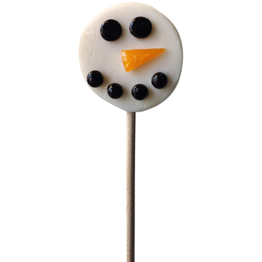 papabubble Snowman Lollipop