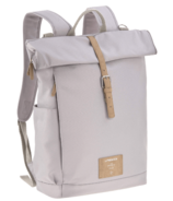 Lassig Rolltop Backpack Diaper Bag Grey