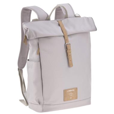 Lassig Rolltop Backpack Diaper Bag Grey