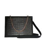 ela Crossbody With Chain And Strap Black