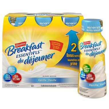 Carnation Breakfast Essentials Vanilla Ready to Drink