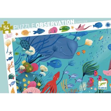 Djeco Observation Puzzle Aquatic