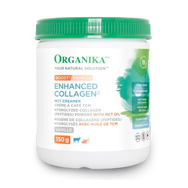 Organika Enhanced Collagen Boost Vanilla
