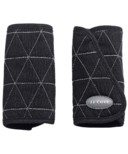 JJ Cole Reversible Black Tri-Stitch Strap Covers
