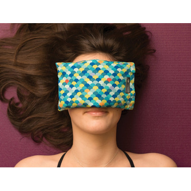 Halfmoon Cotton Eye Pillow Dotty