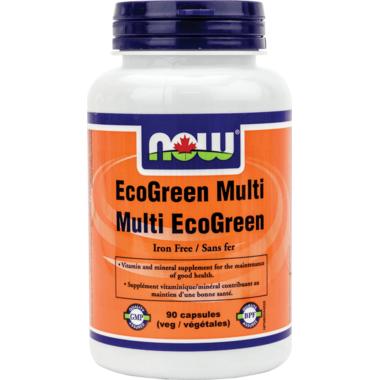 NOW Foods EcoGreen Multi Veg Capsules