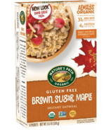 Nature's Path Organic Brown Sugar Maple Instant Oatmeal