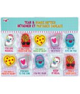 Fashion Angels Valentine's Tear & Share Gifties Erasers