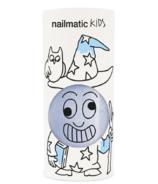 nailmatic Kids Vernis à ongles à base d'eau Merlin Pearly Blue