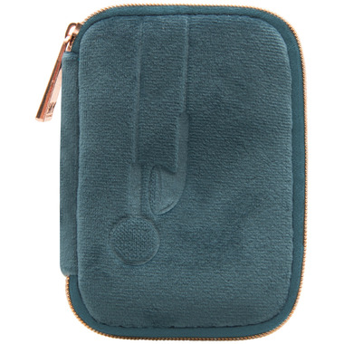 MYTAGALONGS Vixen Ice Blue Earbud Case