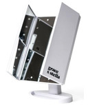 Grace & Stella Co. LED Trifold Vanity Mirror