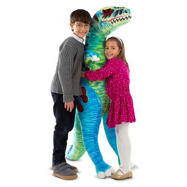 Melissa & Doug Jumbo T-Rex Dinosaur Lifelike Stuffed Animal