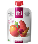 Love Child Organics Pouch Apples, Sweet Potatoes, Beets & Cinnamon