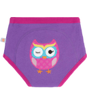 ZOOCCHINI Organic Training Pants Olive the Owl