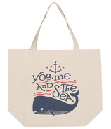 Now Designs Whale Tote Bag