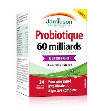 Jamieson Probiotic Ultra Strength 60 Billion Active Cells