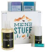 Rocky Mountain Soap Co. Men's Stuff Gift Set