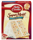 Betty Crocker Super Moist Rainbow Bit Cake Mix