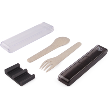 Minimal Natural Fiber Cutlery Set