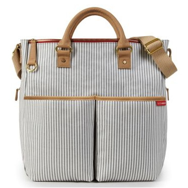 Skip Hop Duo Special Edition Diaper Bag Luxe French Stripe