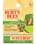 Burt's Bees Lip Balm Ginger Lime Box