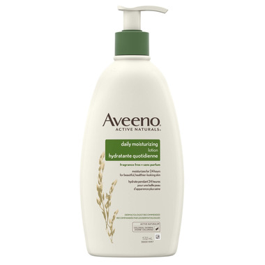 Aveeno Daily Moisturizing Lotion Bottle
