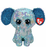 Ty Flippable Stuart Sequin Elephant Medium