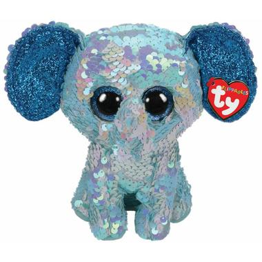 Ty Flippable Stuart Sequin Elephant Medium