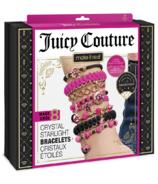 Make It Real Juicy Couture Bracelets en cristal lumière stellaire avec Swarovski