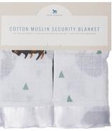 Little Unicorn Cotton Muslin Security Blanket Bison