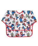 Bumkins Nintendo Sleeved Bib Super Mario and Luigi