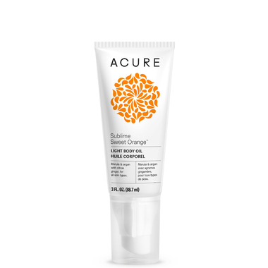 Acure Sublime Sweet Orange Light Body Oil
