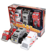 Popular Playthings Magnetic Build-A-Truck Fire & Rescue