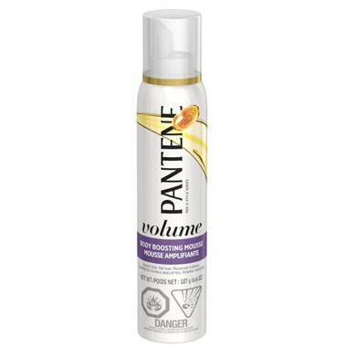 Pantene Body Boosting Mousse