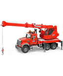 Bruder Toys Construction Mack Granite Crane with Light & Sound