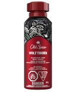 Spray pour le corps sans aluminium Old Spice pour hommes Wolfthorn