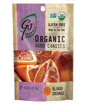 Go Organic Blood Orange Hard Candies