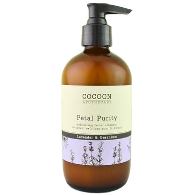 Cocoon Apothecary Petal Purity Exfoliating Facial Cleanser Large