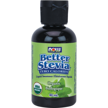 NOW BetterStevia Organic Liquid Sweetener