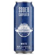 Bière artisanale blanche sans alcool de Sober Carpenter