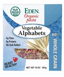 Eden Foods Vegetable Alphabets