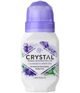 Crystal Essence Lavender & White Tea Roll-on Deodorant
