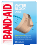 Band-Aid Water Block Plus
