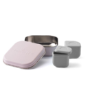 Miniware Grow Bento with 2 Sili Pods Cotton Candy + Grey