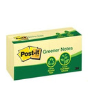 Post-it Greener Notes Original Note Pads